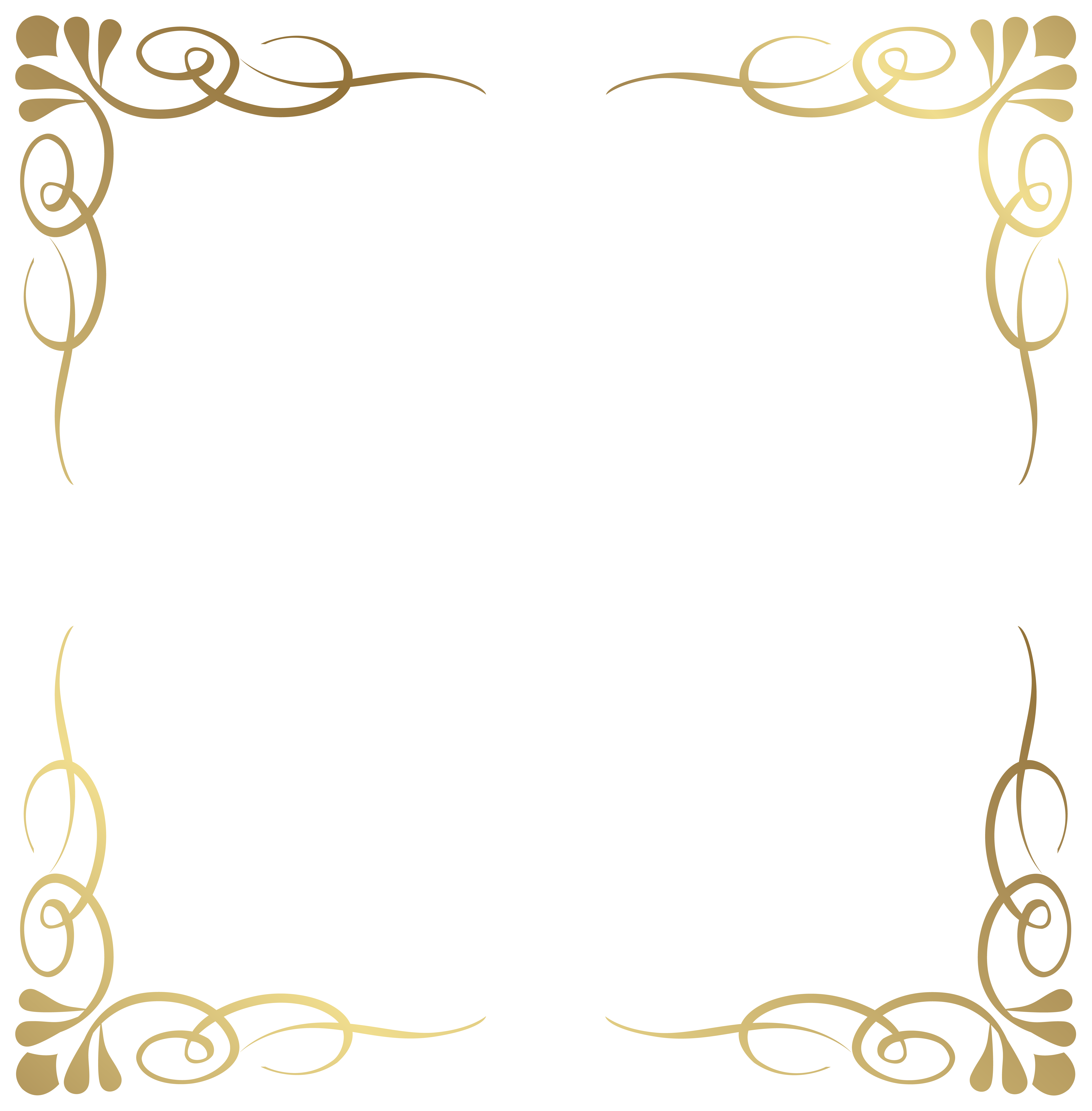 Fancy menu borders templates. Notebook clipart frame