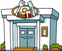 Clipart restaurant cafeteria building. Cartoon png save our