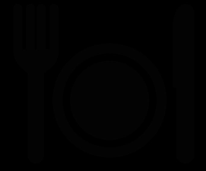 Downtown redwood city fork. Restaurants clipart canteen