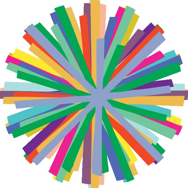 Restaurants clipart colorful. Starburst clip art at