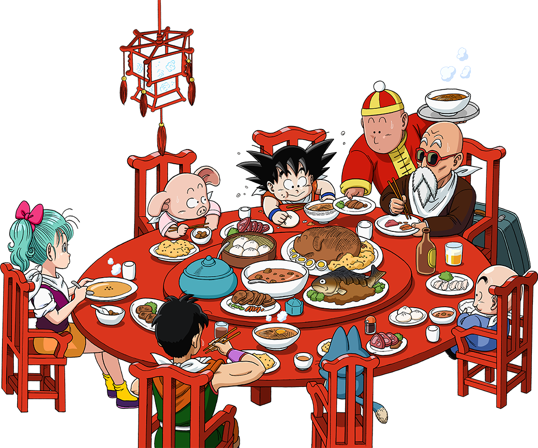 Diner clipart go to. Dragon ball caf is