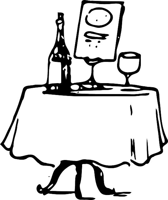Clipart restaurant dining table.  collection of drawing