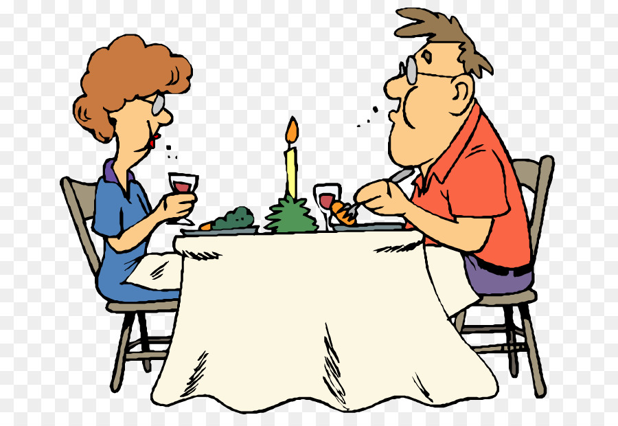 Food cartoon table eating. Diner clipart dinning