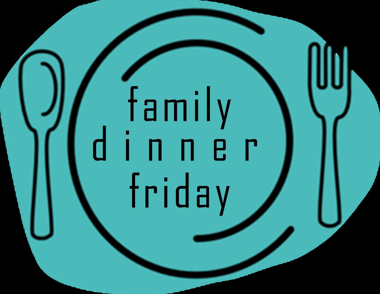 Clipart restaurant family dinner time. Redding first families friday