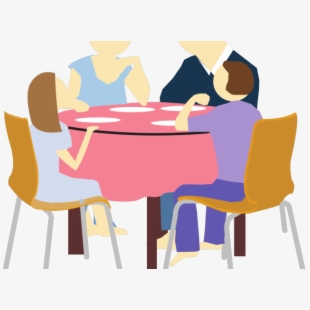 Whether it s a. Clipart restaurant family dinner time