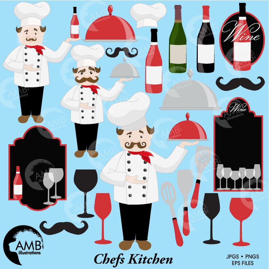 Restaurants clipart restaurant kitchen. Combo chefs cafe fine