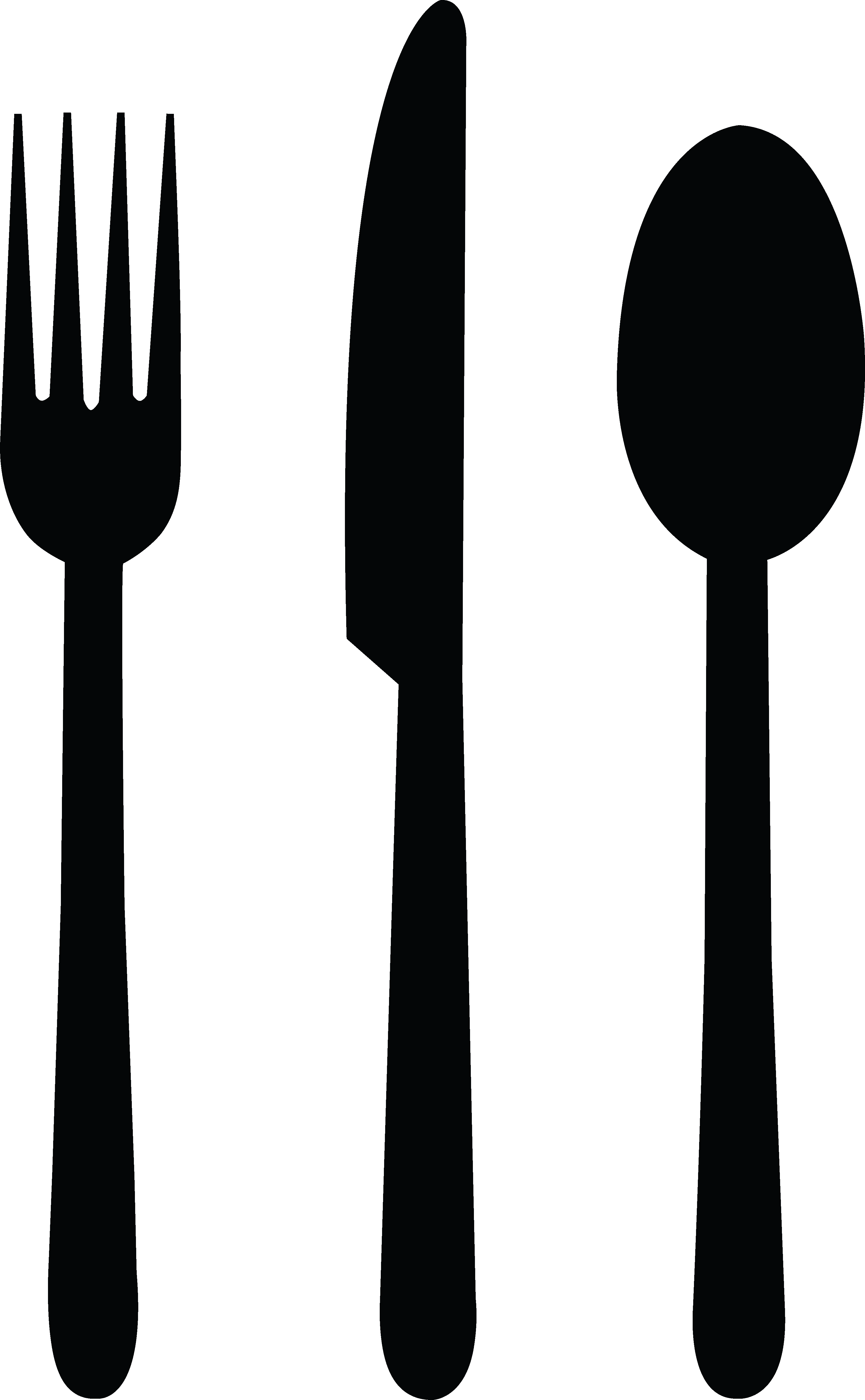 Restaurants clipart spoon fork. And panda free images