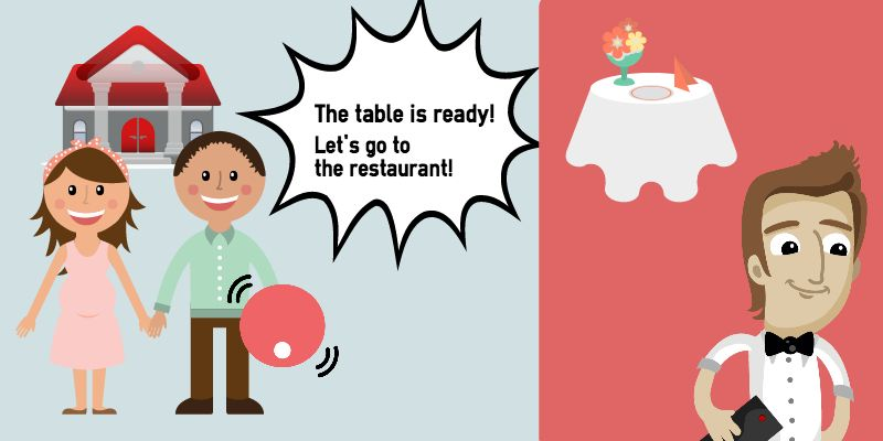Clipart restaurant go to. Pagers don t let