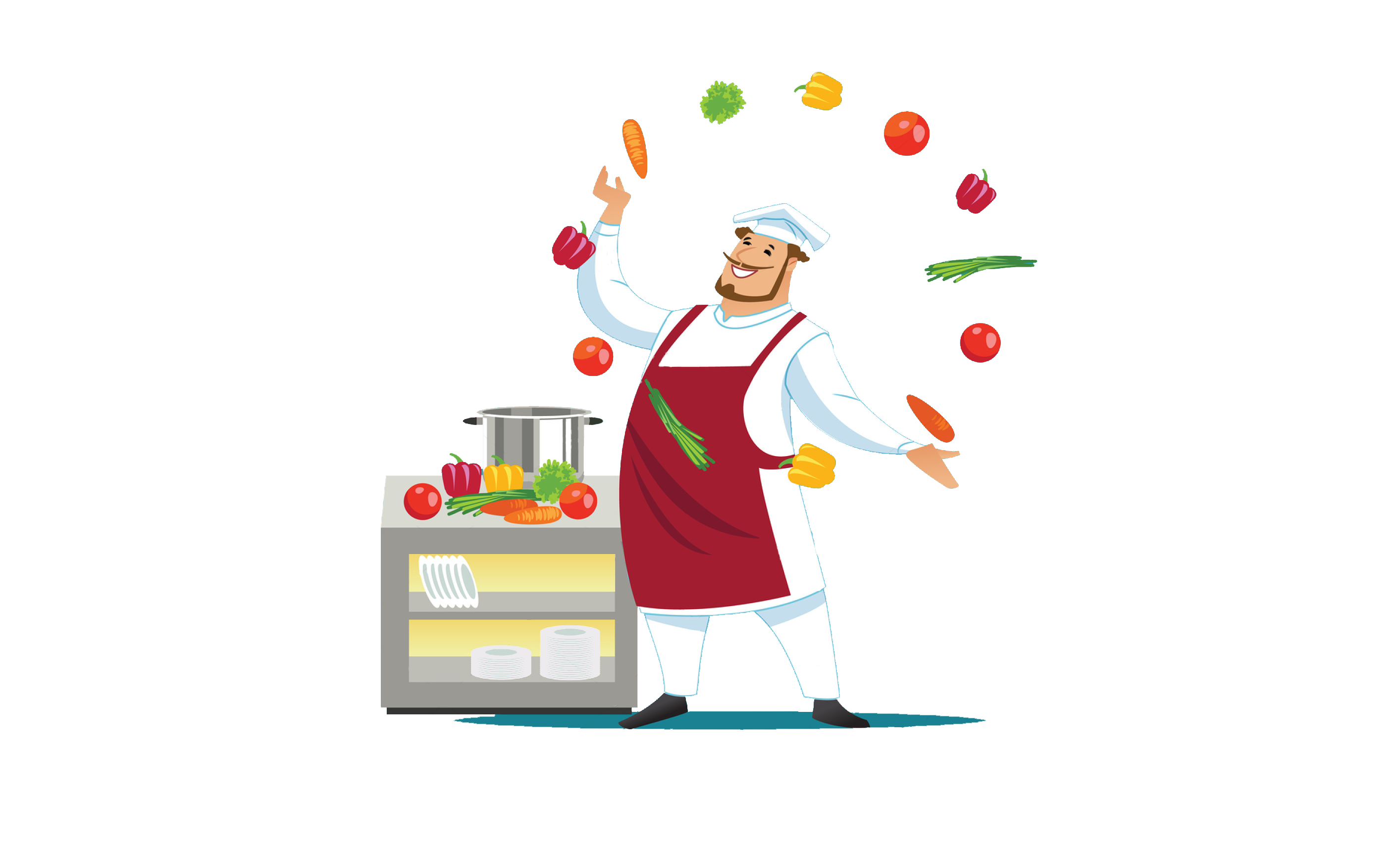 See before you eat. Clipart restaurant go to