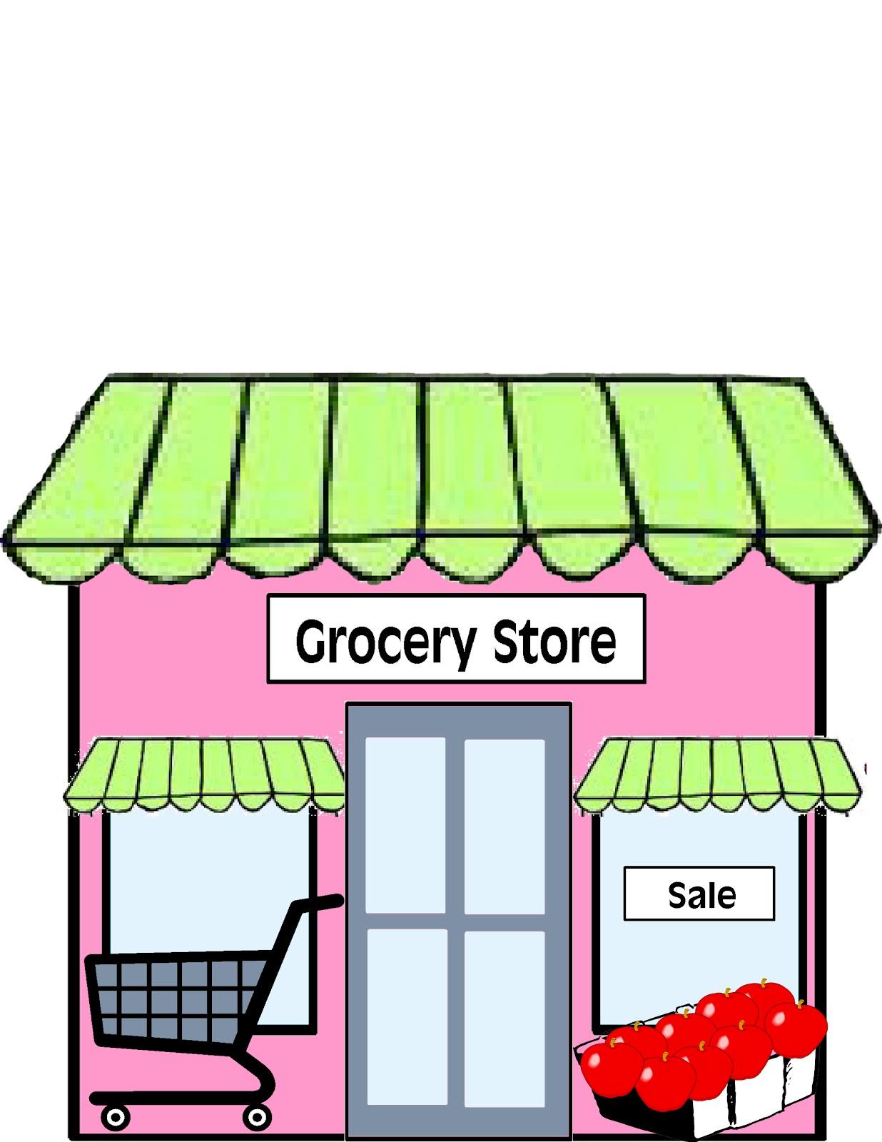 Clipart restaurant grocery store building. Supermarket free jpg clipartpost