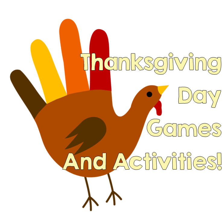 Games to play with. Hunter clipart thanksgiving