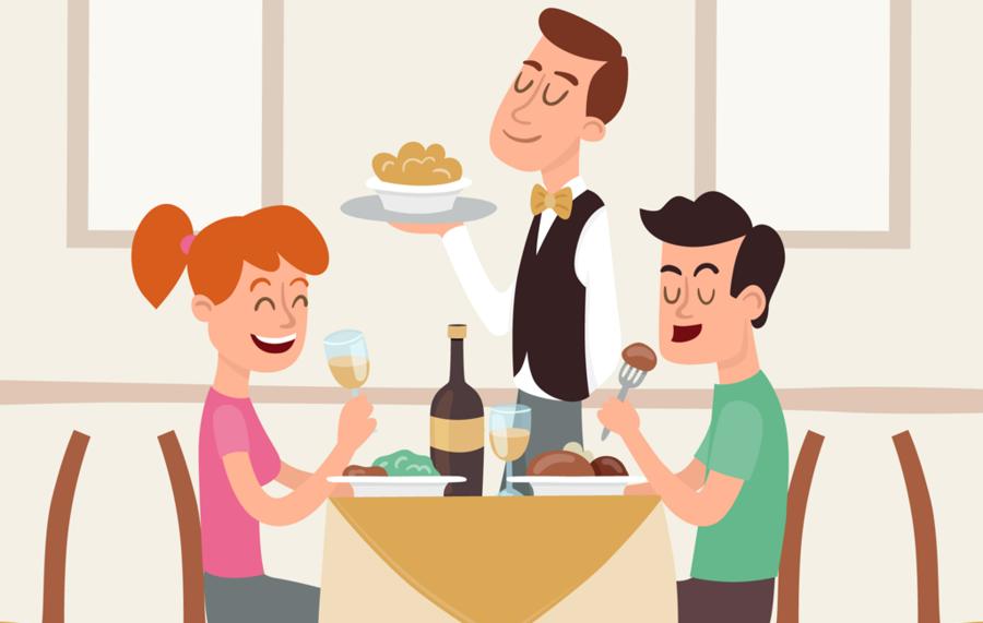 People food . Clipart restaurant hotel restaurant