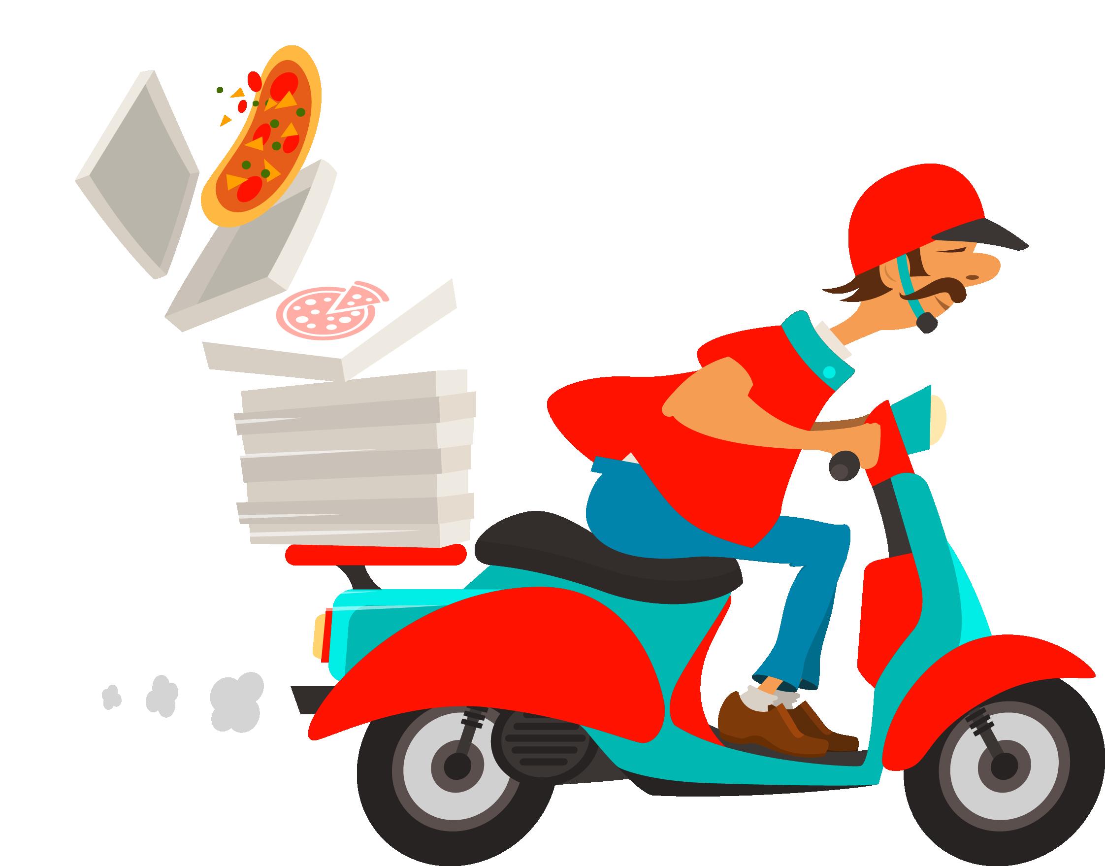 Restaurants clipart order food. Pizza delivery online ordering