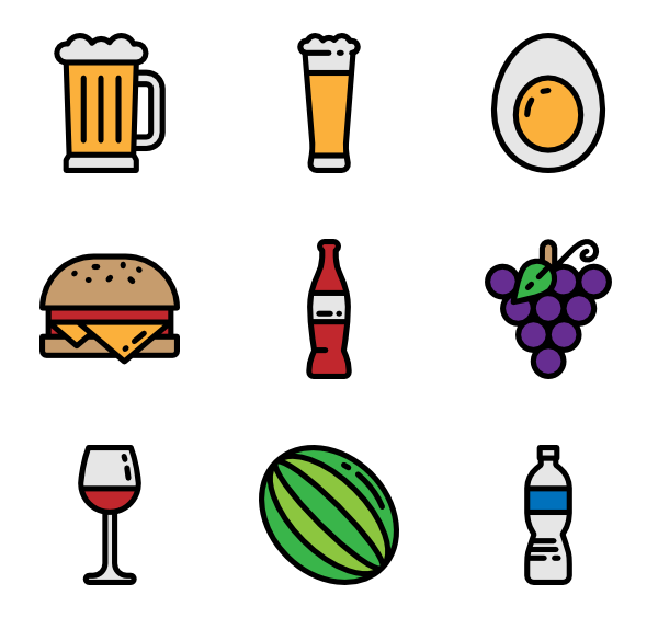 Clipart restaurant pink food.  pizza icon packs