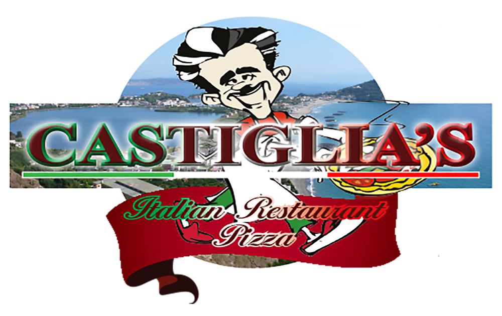 Clipart restaurant pizza parlor. Castiglia s italian and