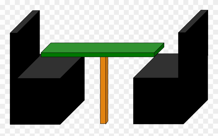 Clipart restaurant restaurant booth. Black and green big
