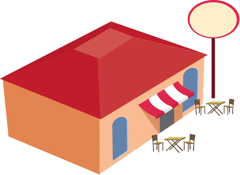 The chow wagon step. Restaurants clipart office lunch
