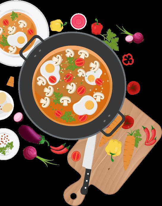 Restaurant mobile app development. Restaurants clipart order food