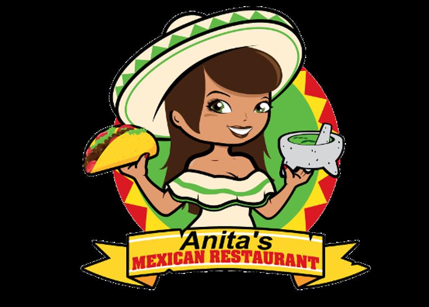 Clipart restaurant restaurant person. Anita s mexican see