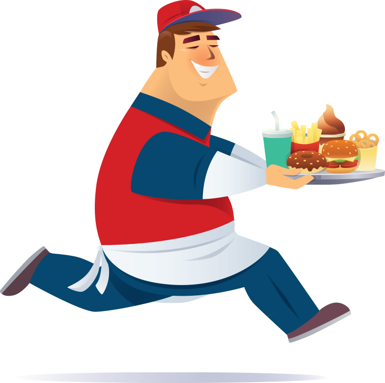Touchpoint innovations serve more. Clipart restaurant restaurant person