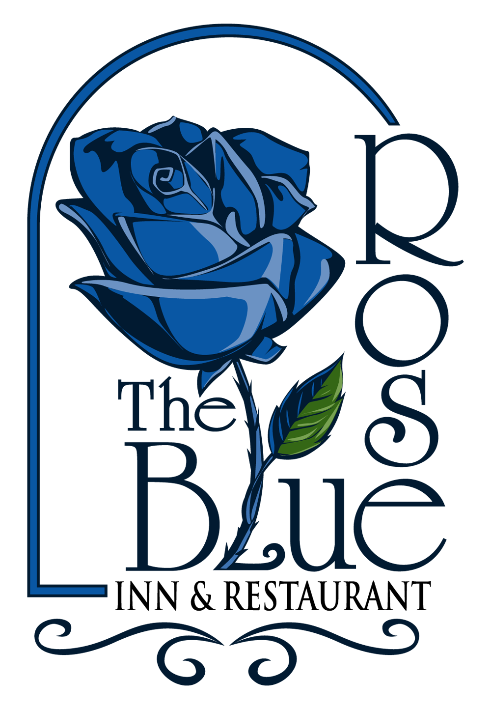 The blue rose inn. Clipart restaurant restaurant review