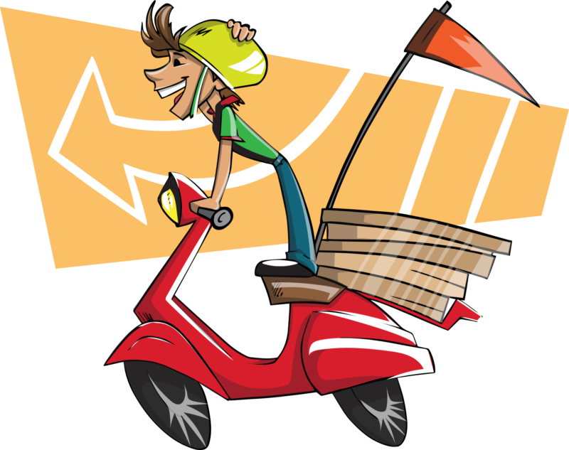 E commerce delivery returning. Restaurants clipart restaurant staff