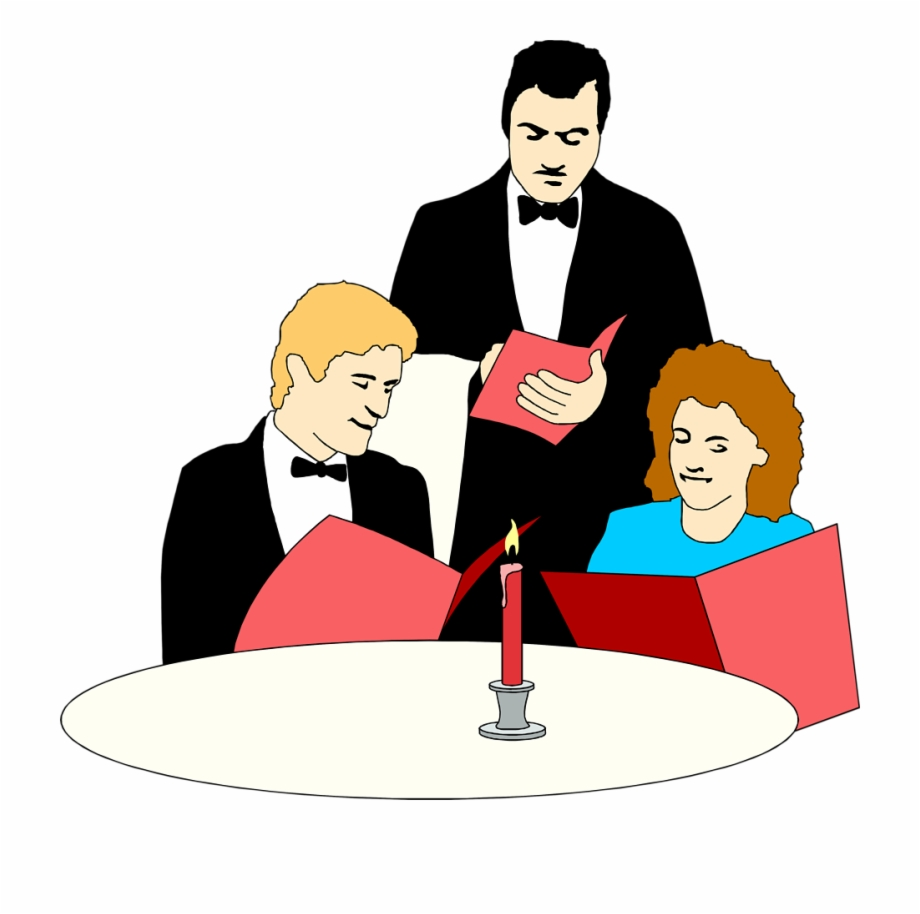 Clipart restaurant restraunt. Server clip art library