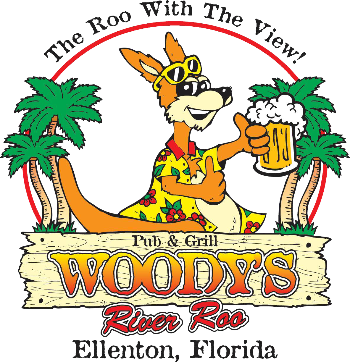 Woody s river roo. Clipart restaurant resturant