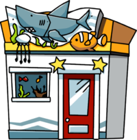 Cartoon restaurant building png. Restaurants clipart scribblenauts