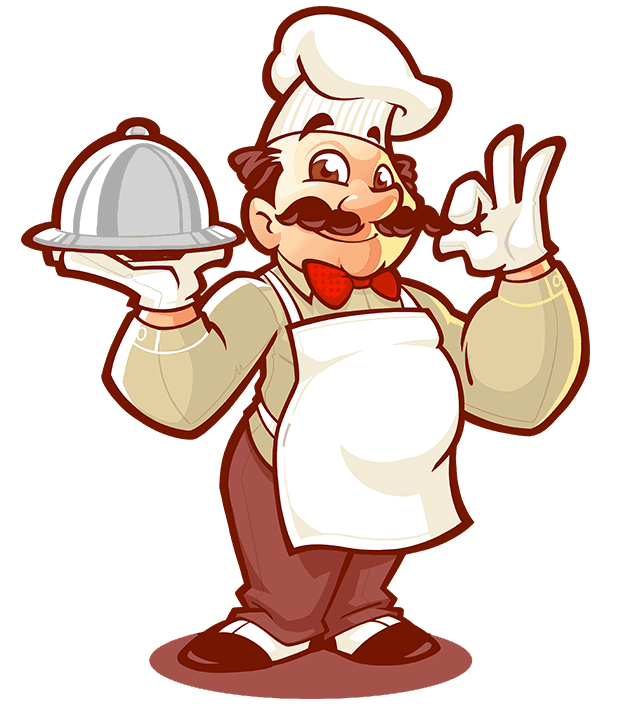 Clipart restaurant small restaurant. Mascot logo design for