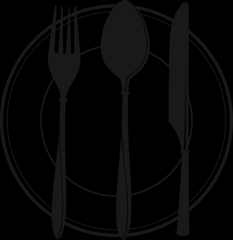 Cutlery. Clipart restaurant spoon fork