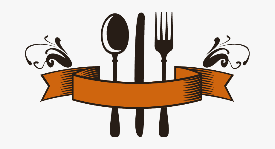 Abstract png restaurant and. Restaurants clipart spoon fork