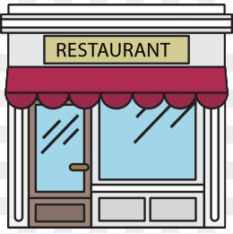 Free download best . Clipart restaurant storefront