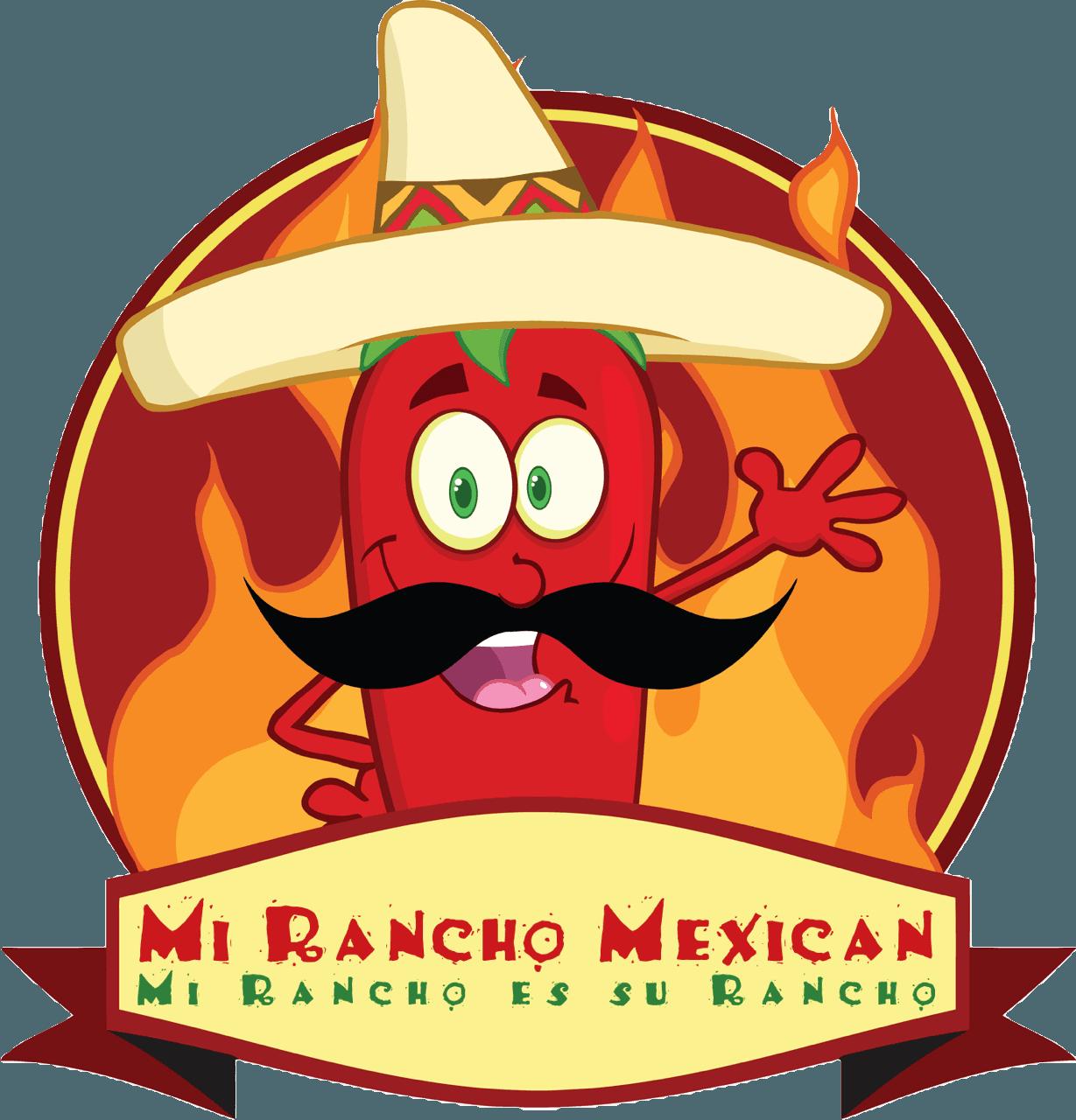 Nacho clipart restaurant mexican. Mi rancho va authentic