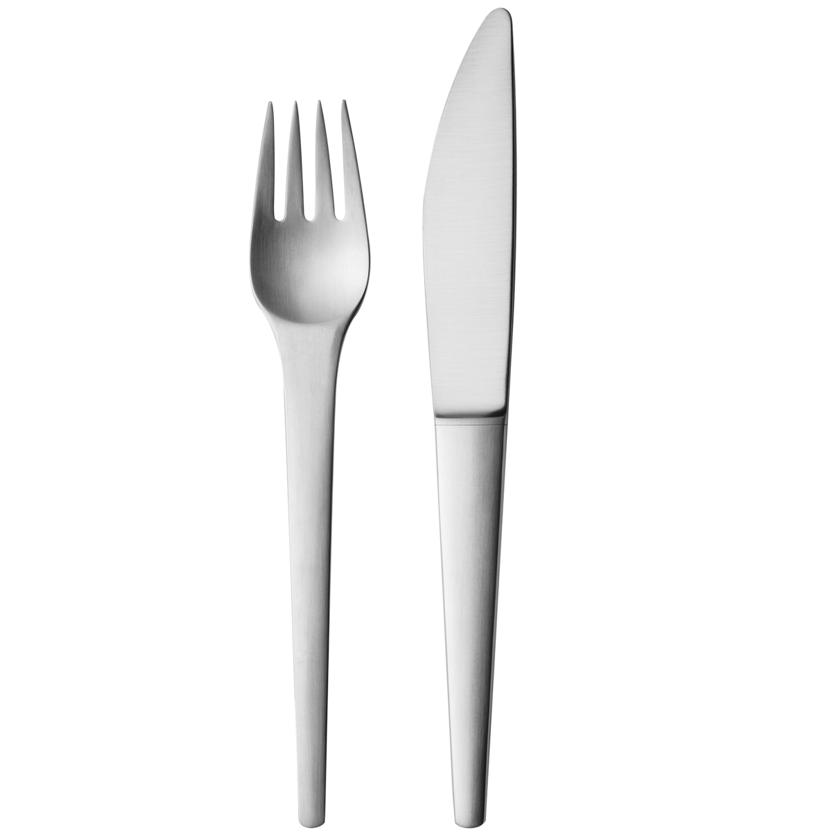 Fork and one isolated. Knife clipart fancy