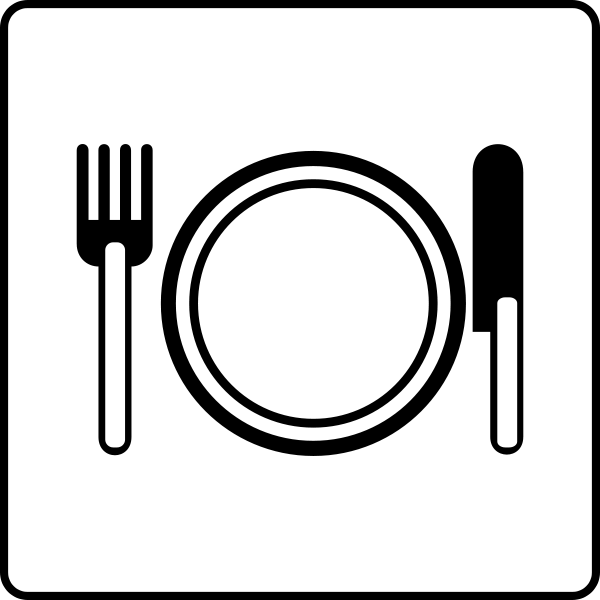 Restaurants clipart icon. Free restaurant images download