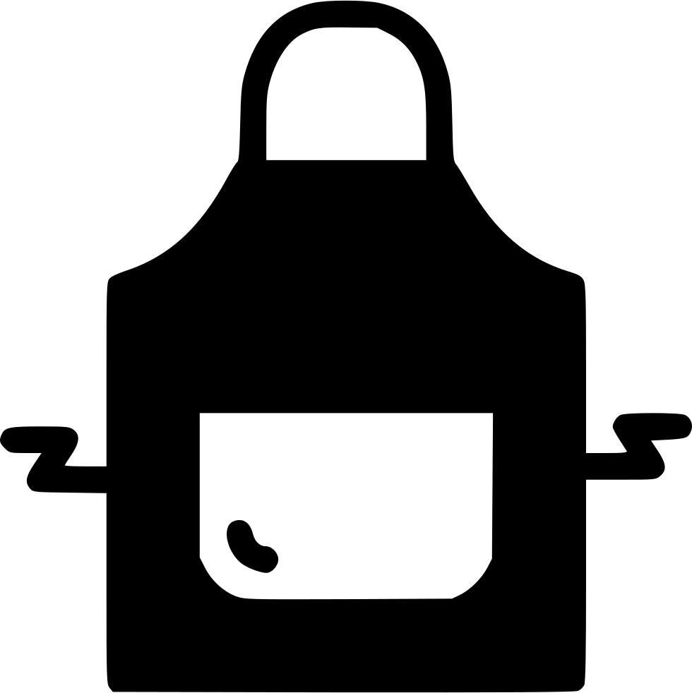 Apron Cook Restaurant Safety Wear Svg Png Icon Free Download