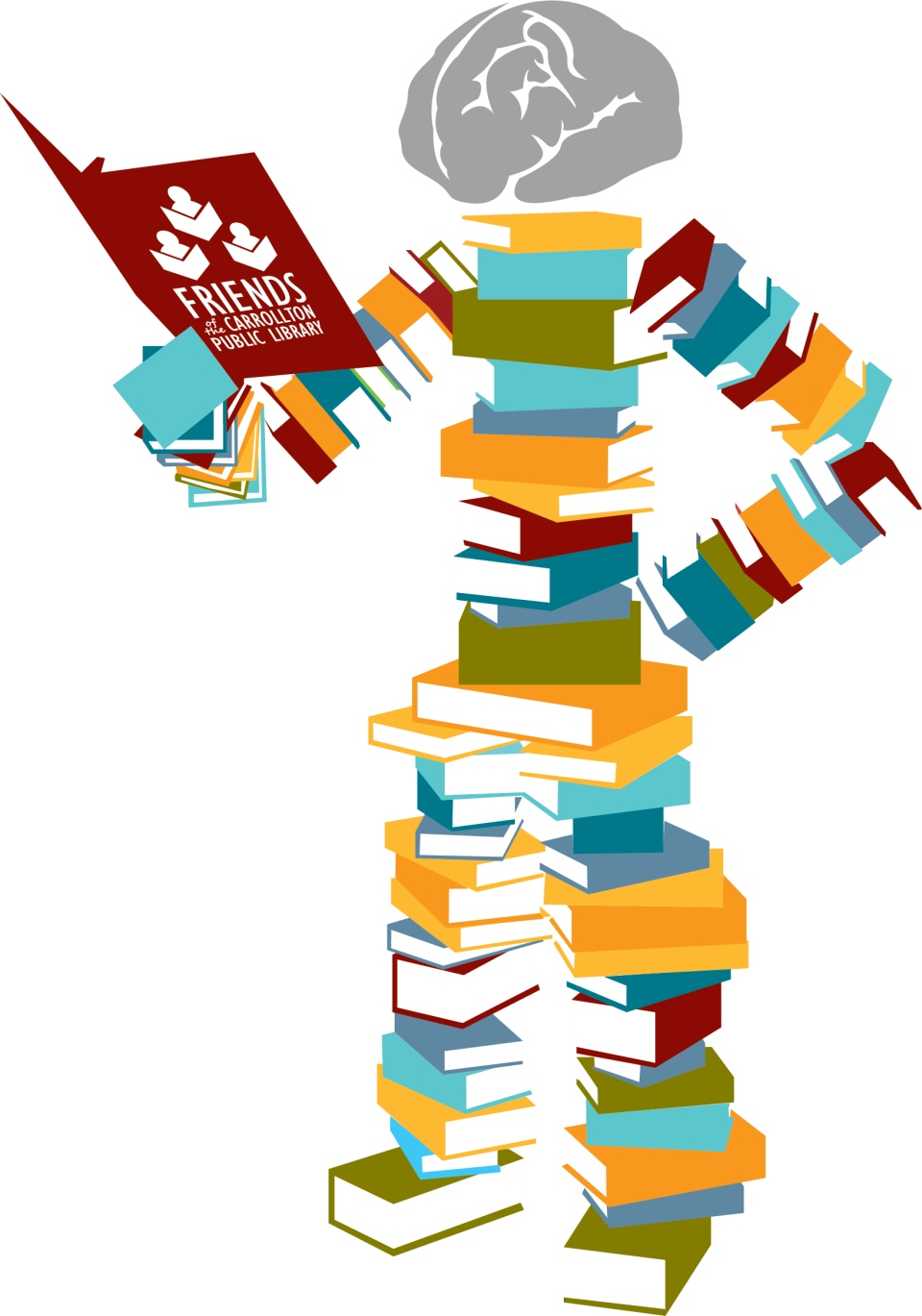 Celebrate national library week. Trail clipart horizon