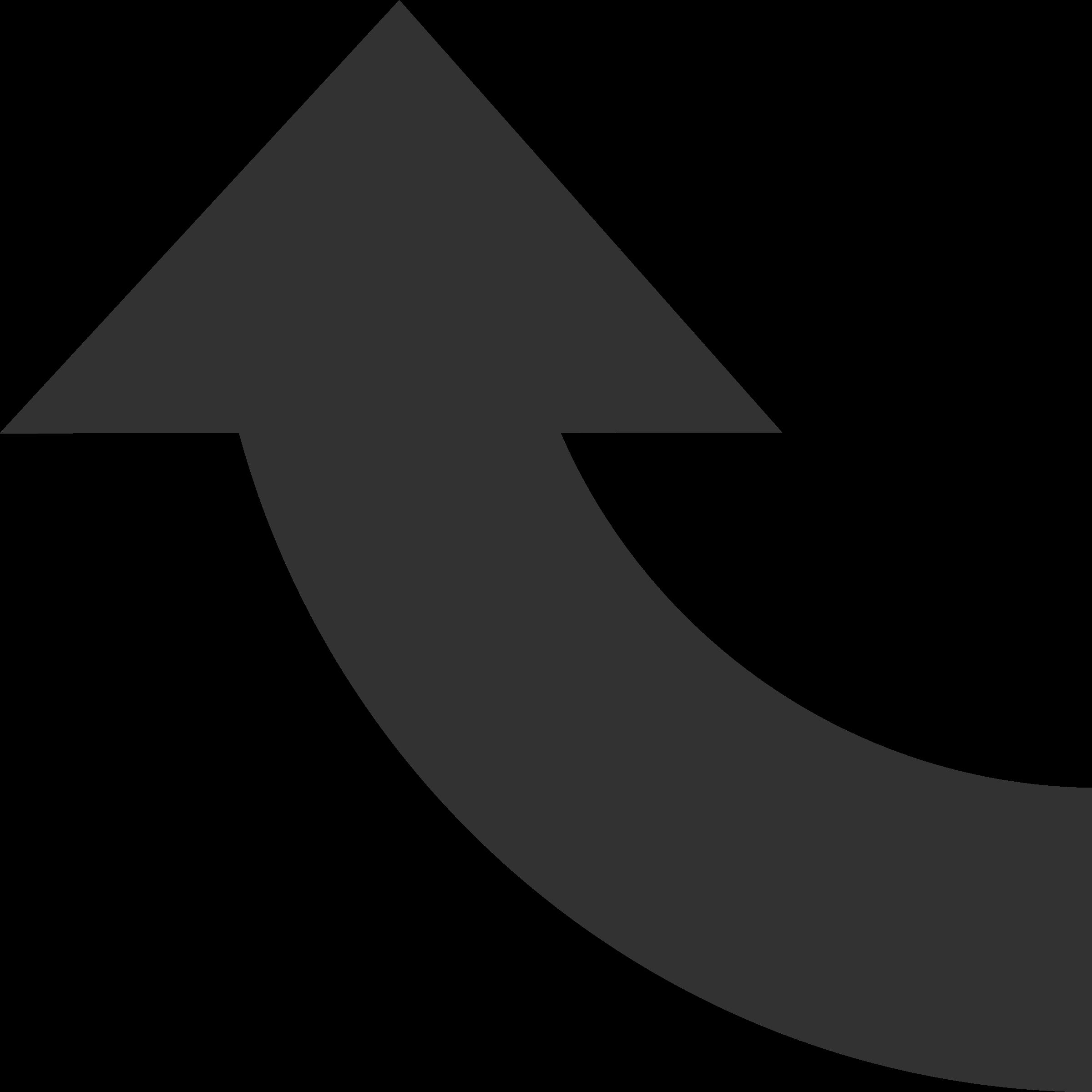 degree. Clipart road arrow