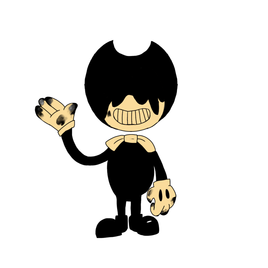 Clipart road bendy. The ink demon evil