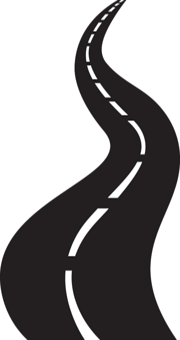 Road high way png. Pathway clipart path
