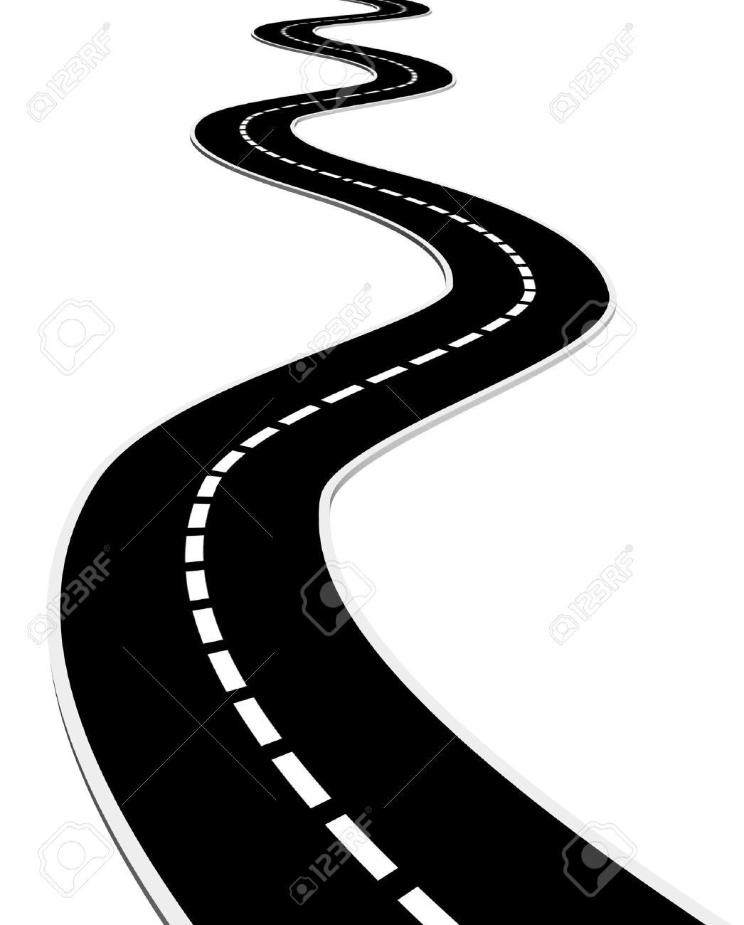 Highway clipart route. Road clip art in