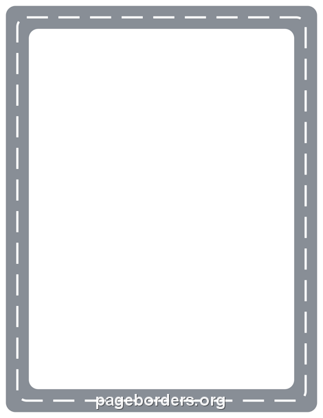 Clipart road border. Clip art page and