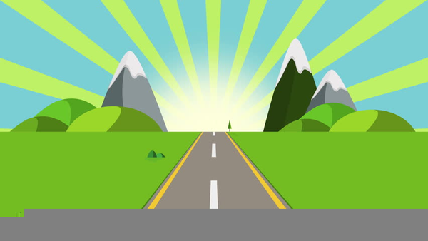 Clipart road cartoon. Trip free images at