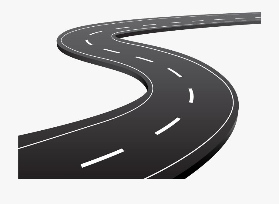 Clipart road cartoon. Highway tar transparent clip