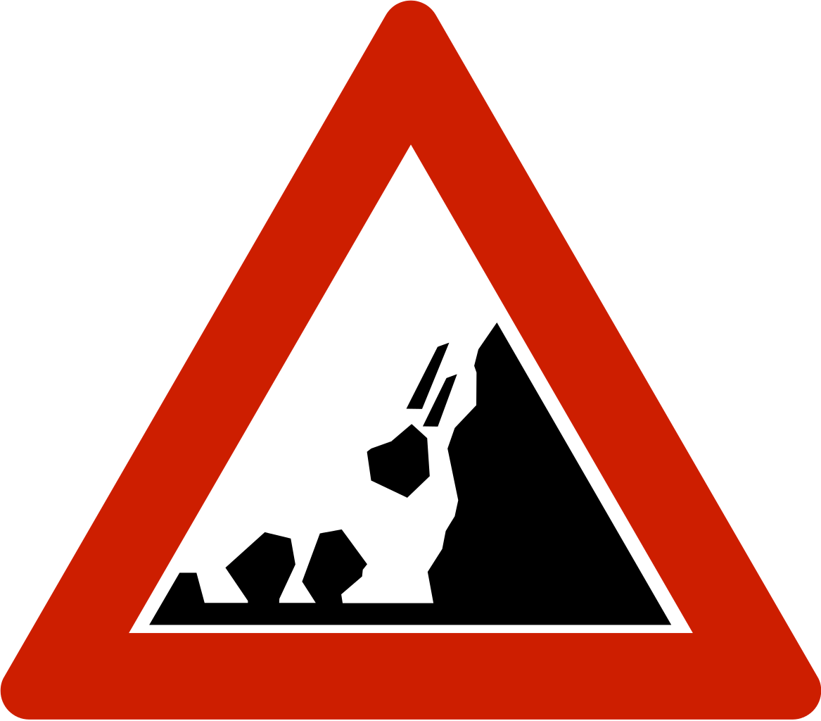 Clipart road country road. File norwegian sign svg