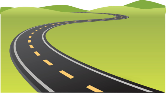 Free road cliparts download. Highway clipart curved