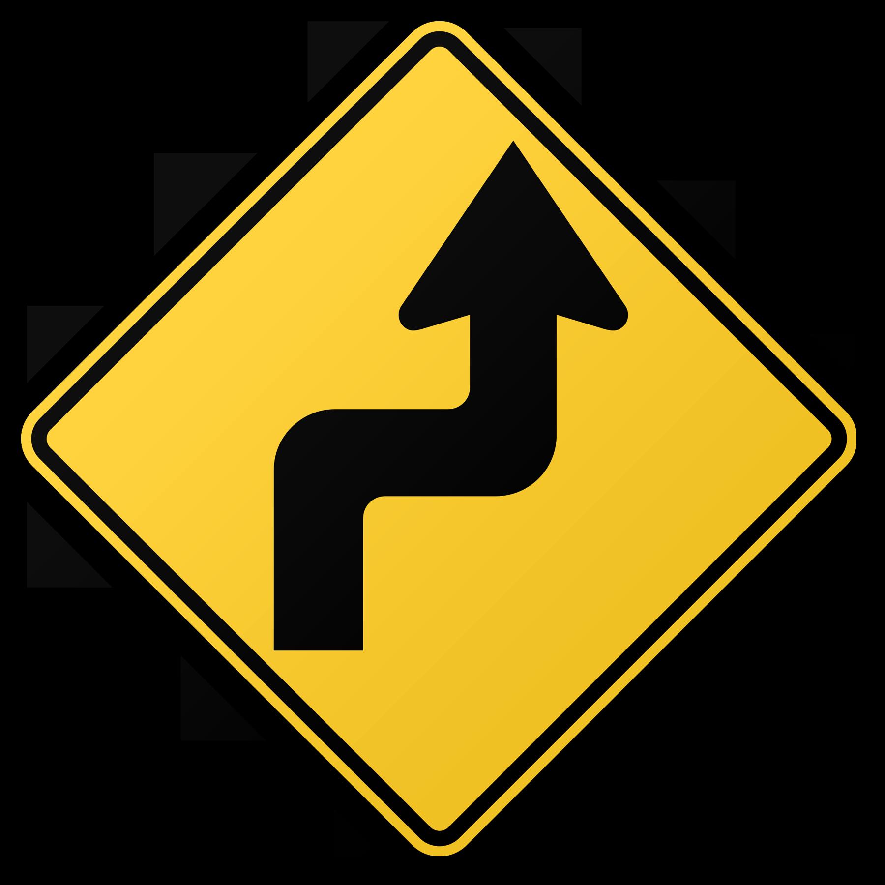 Zigzag png transparent images. Clipart road curving