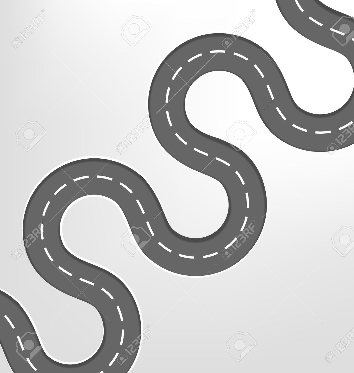 Clipart road curvy road. Free curved cliparts download
