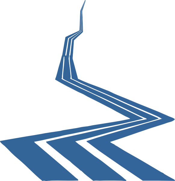 Clip art at clker. Clipart road curvy road